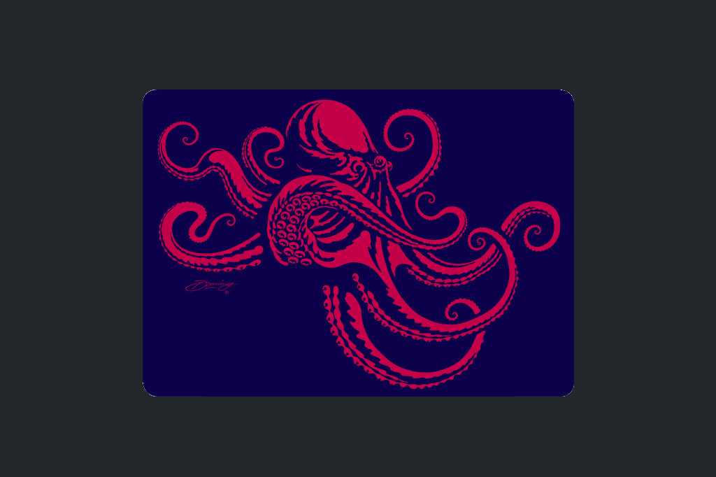 Octopus R&P - Cutting Boards - Artist - Ray Domingo - Gulfport, FL