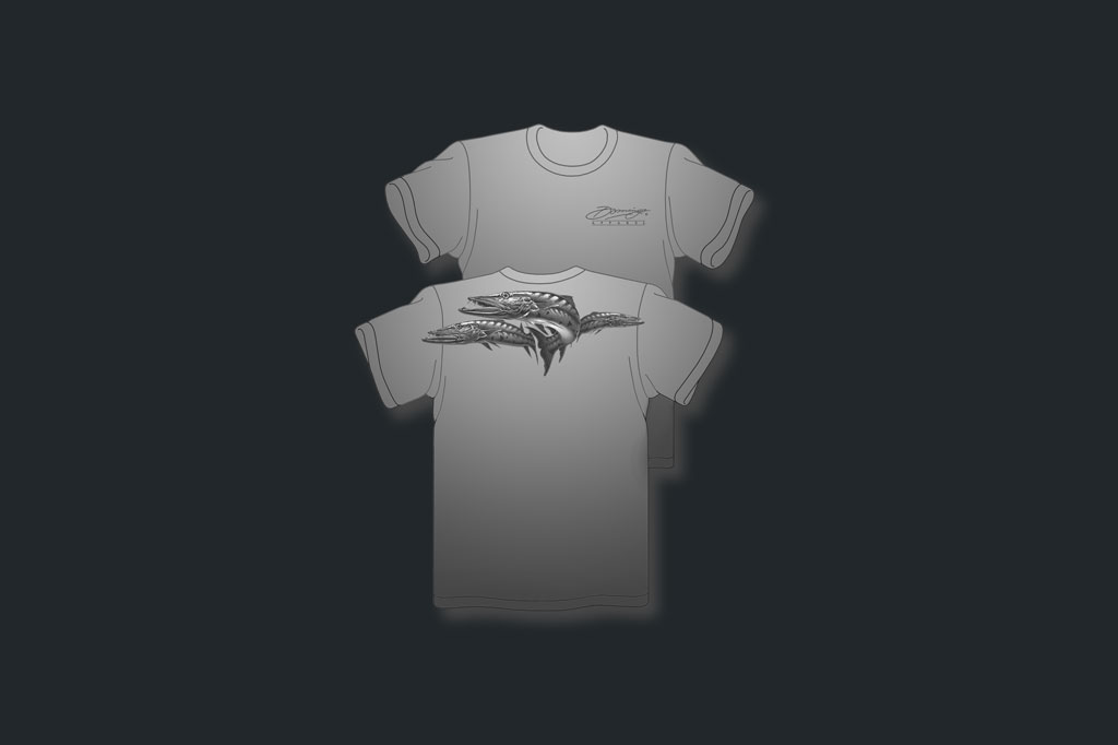 Grey Barracudas - Vapor Tees - Men's Apparel - Artist - Ray Domingo - Gulfport, FL